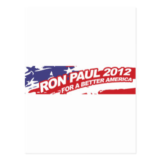 Ron PaulFor 2012 - election president vote Postcard