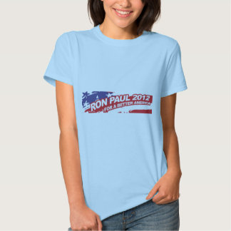Ron PaulFor 2012 - election president vote T-shirt