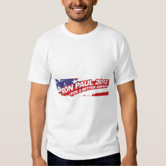 Ron PaulFor 2012 - election president vote Tshirt