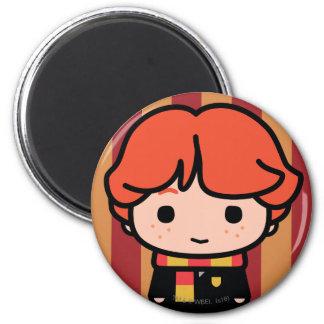 Ron Weasley Cartoon Character Art Magnet