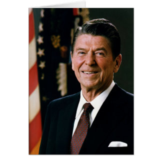 Ronald Reagan Card