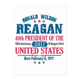 Ronald Reagan Postcard