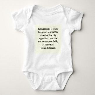 ronald reagan quote baby bodysuit