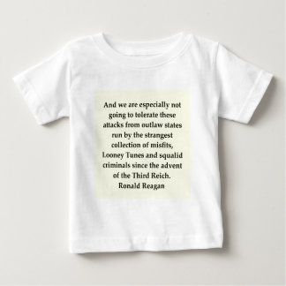 ronald reagan quote baby T-Shirt