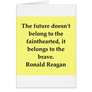 ronald reagan quote card