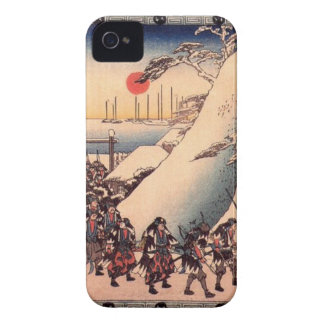 Ronin Enter Sengakuji Temple to Pay Homage to Thei iPhone 4 Case