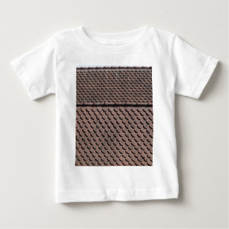 Roof tiles of a medieval roof in southern Germany Baby T-Shirt