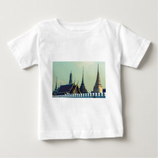 Roofs of the Grand Palace in Bangkok Thailand Baby T-Shirt