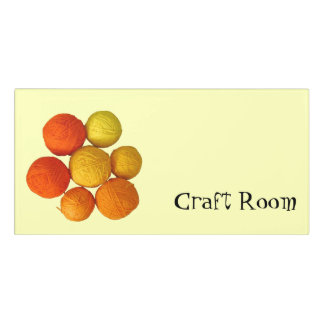 Room Sign - Yarn Collection Craft Room
