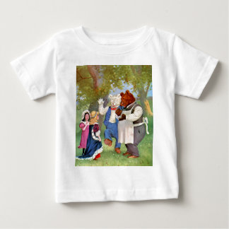 Roosevelt Bears With The Fairy Tale Princesses T Shirts