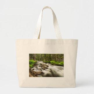 Roosevelt National Forest Stream Large Tote Bag