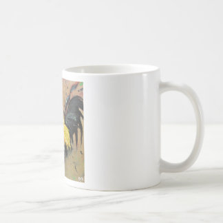 Rooster#463 Classic White Coffee Mug