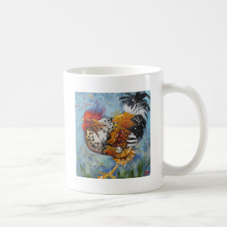 Rooster#475 Classic White Coffee Mug