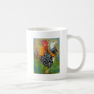 Rooster#485 Classic White Coffee Mug