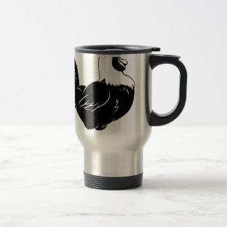 Rooster chicken crowing mug