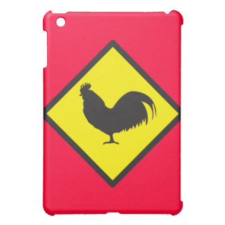 ROOSTER crossing iPad Mini Cover