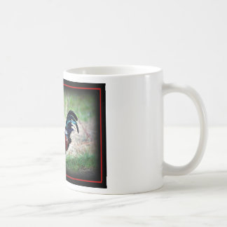 Rooster Cup Classic White Coffee Mug
