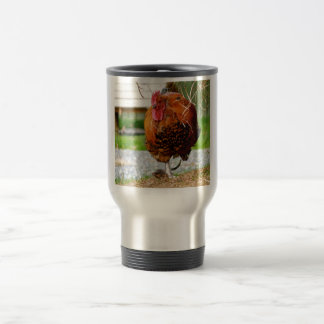 Rooster Farm Animals Nature Photography Coffee Mug