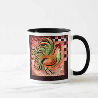 Rooster Mug (Red Version)