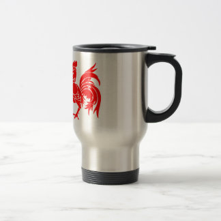 Rooster of Wallonia Travel Mug