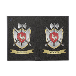 Rooster Sigil Battle Crest Black Cover For iPad Mini