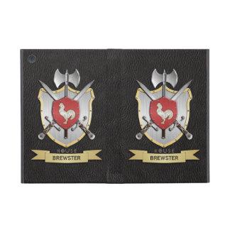 Rooster Sigil Battle Crest Black iPad Mini Covers