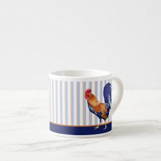 Rooster stripes Espresso Mug