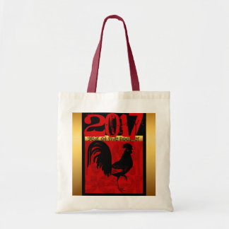 Rooster Year Custom 2017 Tote bag 1