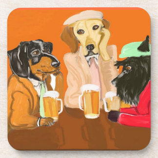 Root Beer Pals Coaster