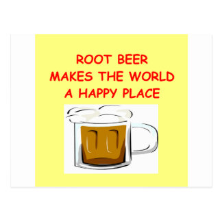 root beer postcard