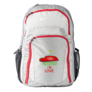 Rooted In Love Heart Nike Backpack