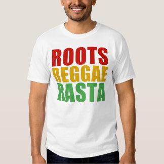 Roots, Reggae, Rasta Tshirt