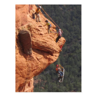 Rope Rescue in Red Rock Country Postcard