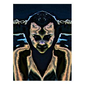 Rorschach's Bride Postcard