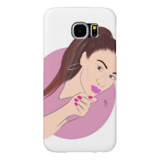 Rosa mouth samsung galaxy s6 cases