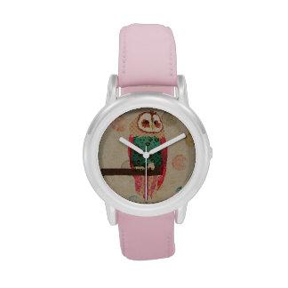 Rosa Owl Watch