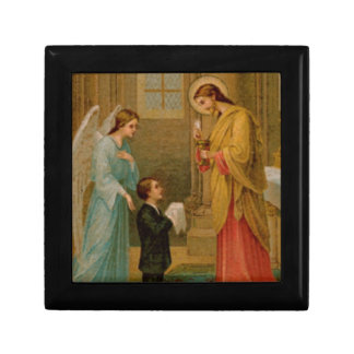Rosary Box: Happy Is The Soul Gift Box