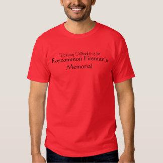 Roscommon Fireman Memorial Shirts