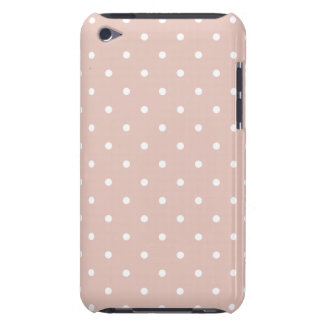 Rose 50's Style Polka Dot iPod Touch G4 Case iPod Case-Mate Cases