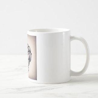 rose basic white mug