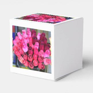rose bouquet box favour box