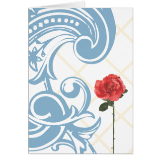 {Rose by the Sea} Greeting Card