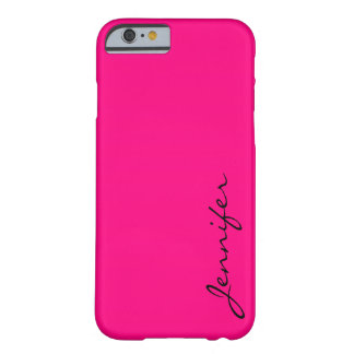 Rose color background barely there iPhone 6 case