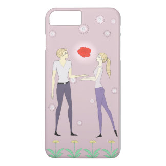 rose for you iPhone 7 plus case