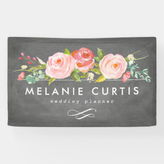 Rose Garden Floral Business Banner