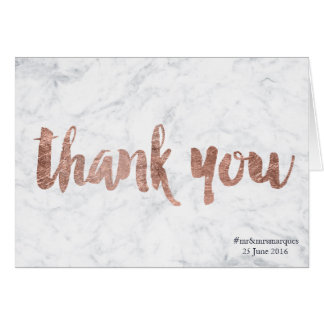 Wedding Thank You Greeting Cards