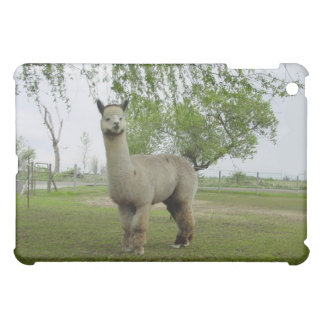 Rose grey alpaca iPad mini covers