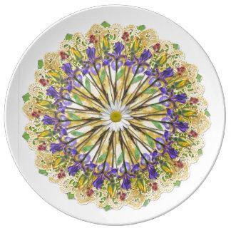 Rose Mandala Plate