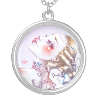 Rose of Versailles Round Pendant Necklace