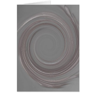 Rose Quartz Swirl Greeting Card